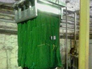 Processed wool