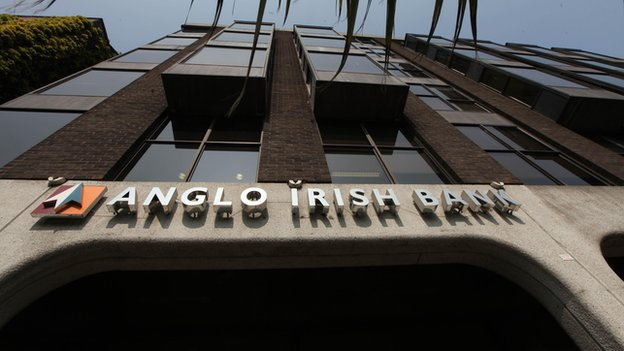 Anglo Irish Bank front