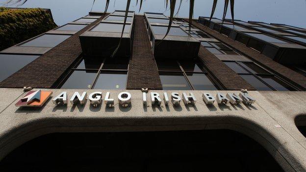 Anglo Irish Bank front