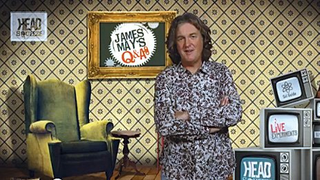 James May on Headsqueeze