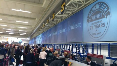 Manchester Airport on its 75th anniversary