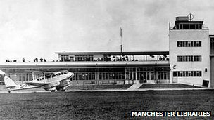 Ringway Airport in 1938