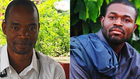L: Konan Kouadio Koffi; R: Kouadio Koffi