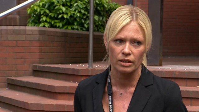 Detective Chief Inspector Caroline Marsh