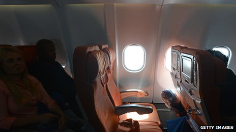 Photo of Edward Snowden's empty seat on an Aeroflot jet