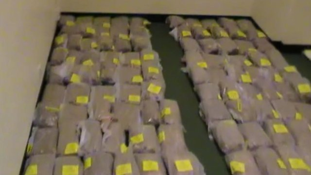 Drugs haul found in a warehouse