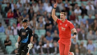 Boyd Rankin takes first England wicket