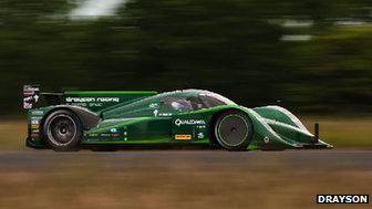 Drayson Racing electric car sets new world speed record