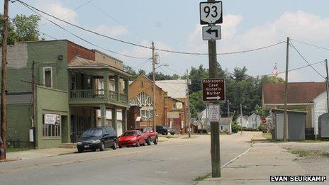 New Straitsville, Ohio, in June 2013