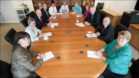 Welsh government cabinet