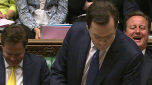 George Osborne, David Cameron and Nick Clegg