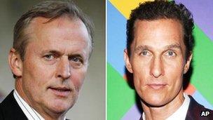 John Grisham and Matthew McConaughey