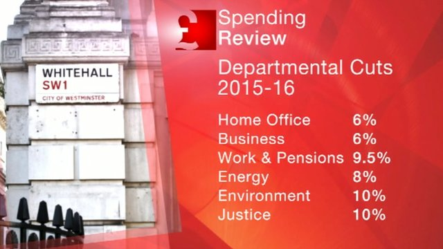 Spending Review graphic
