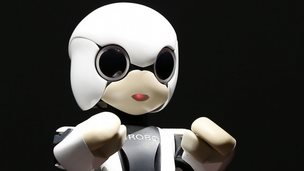 Japanese robot which will be sent to space