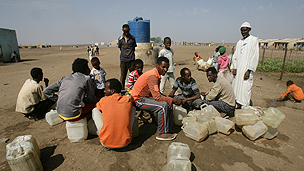 Shagarab refugee camp in Sudan
