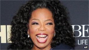Oprah Winfrey tops Forbes magazine's annual 'Celebrity 100 ...