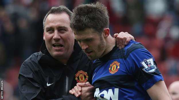 Rene Meulensteen & Michael Carrick