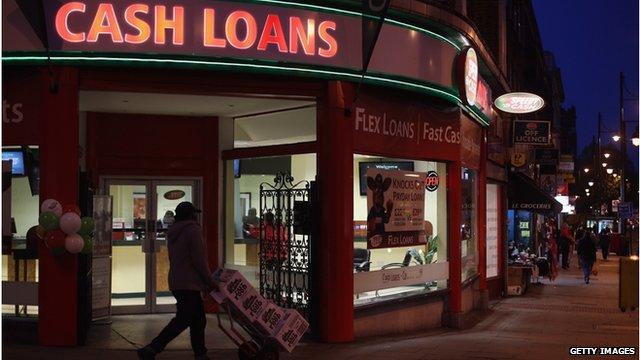 Payday loan company