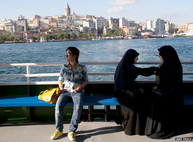 Istanbul ferry