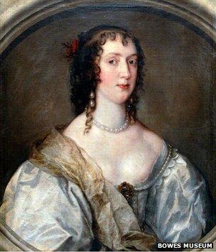 A Van Dyck portrait of Olivia Boteler Porter