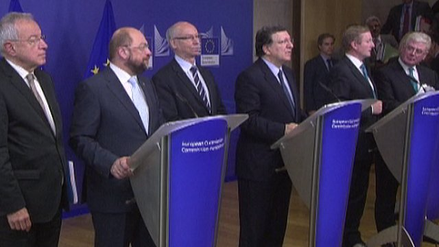 EU leaders meet in Brussels
