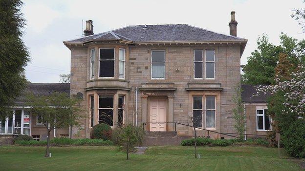 Victorian mansion in Helensburgh, Scotland