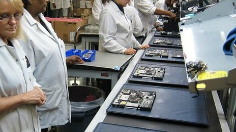 Lenovo's first assembly line in the USA