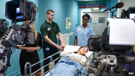 Lauren's storyline saw her being admitted to hospital with liver damage