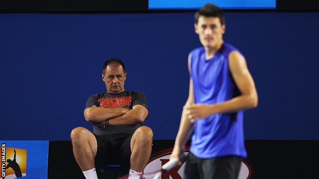 John and Bernard Tomic