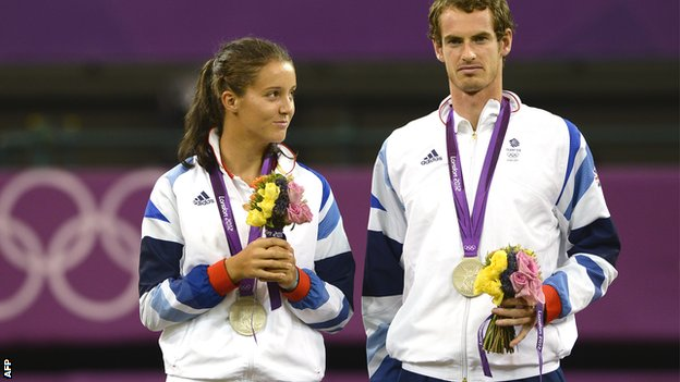 Sport: Andy Murray and Laura Robson share Wimbledon spotlight