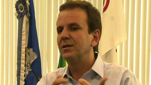 Mayor Eduardo Paes of Rio de Janeiro