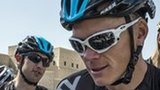 Alberto Contador and Chris Froome at the 2013 Tour of Oman