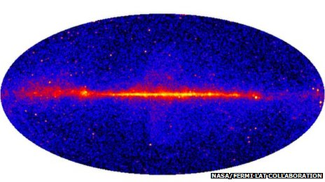 Fermi >10GeV all-sky map