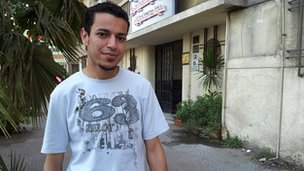 Ali Mohammed, 27, unemployed