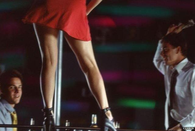 Strip Club Pole Dancer 2001