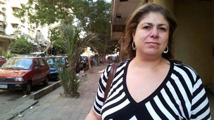 Amira Saleh, 41, administrator