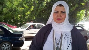 Engy Abdel Moneem, 45, housewife