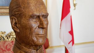 Bust of Prince Philip