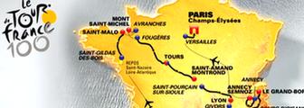 Tour de France 2013 map