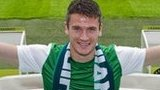Owain Tudur Jones at Easter Road