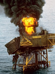 Piper Alpha oil platform