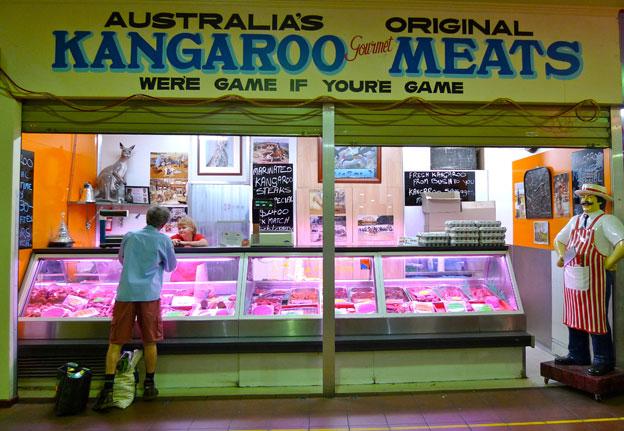 Dean Cooper's butcher shop, Adelaide