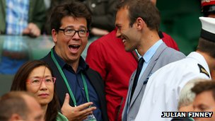 Michael McIntyre and Ross Hutchins