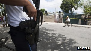 Police in Cancun