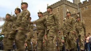 Armed Forces Parade, Cardiff