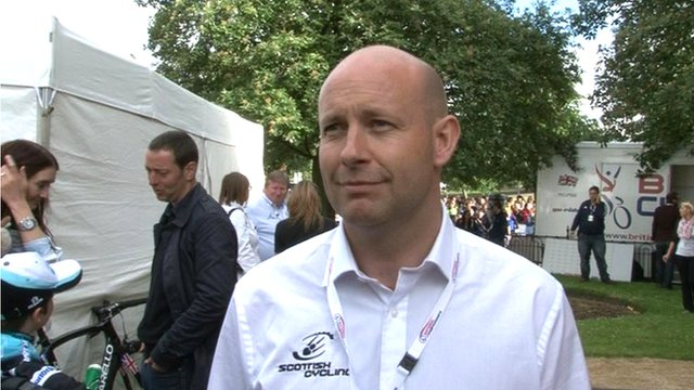 Scottish Cycling chief executive Craig Burn