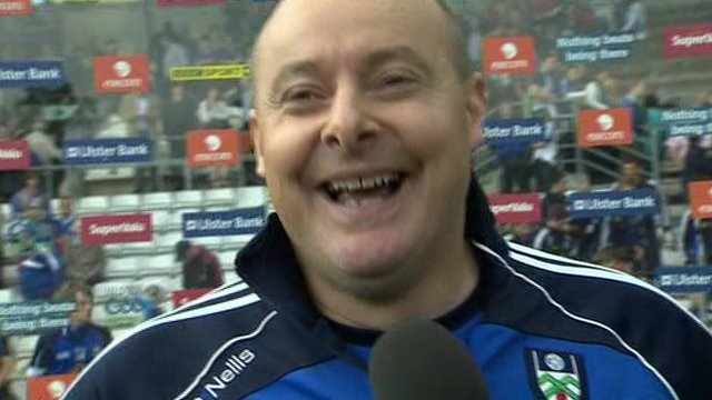 Malachy O'Rourke delighted by Monaghan semi-final win