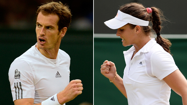 BBC Sport - Andy Murray & Laura Robson set for Wimbledon ...