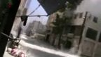 VIDEO: Air strikes shake Syria's Homs