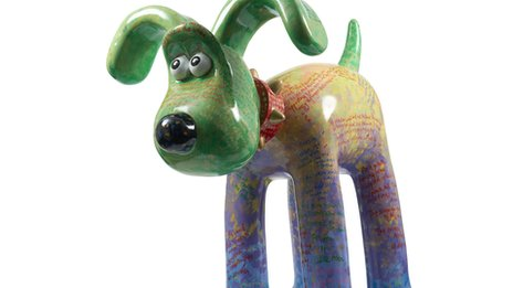 Gromit sculpture